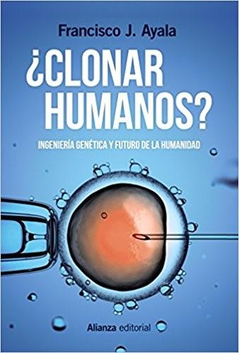 Portada del libro clonar humanos