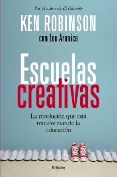 """Portada del libro """"Escuelas creativas"""""""