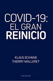 """Portada del libro """"COVID-19: El gran reinicio"""""""